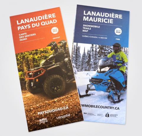 Tourisme Lanaudière - Cartes de sentiers