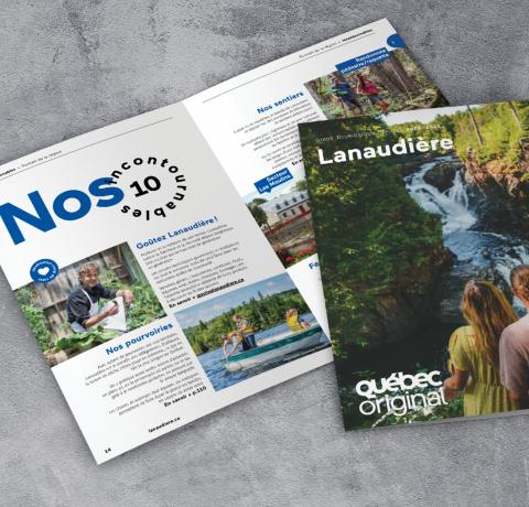 Guide touristique 2020 - Tourisme Lanaudière