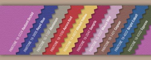 Les couleurs de l'automne 2014 selon Pantone
