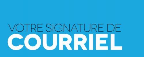 Votre signature de courriel