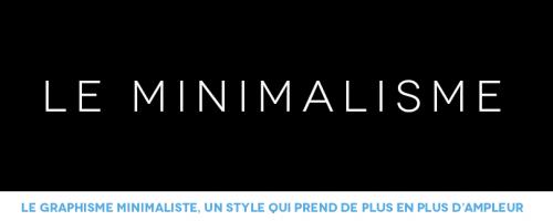 Le graphisme minimaliste, un style qui prend de plus en plus d'ampleur