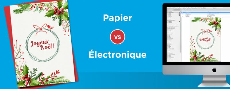 Papier vs Électronique