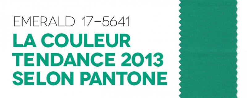 Emerald 17-5641 | La couleur de l'année 2013 selon Pantone