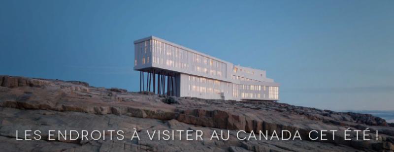 Les endroits à visiter au Canada cet été