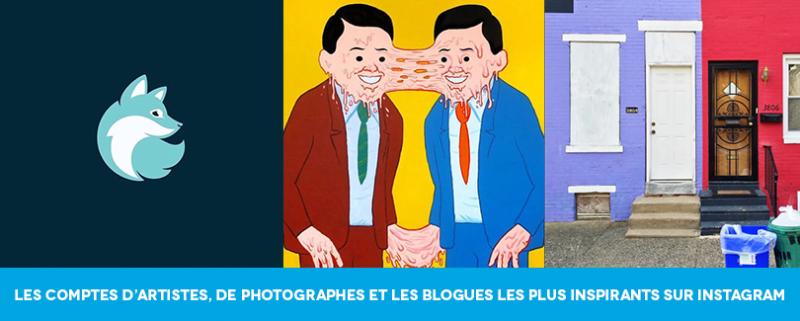 Les comptes d'artistes, de photographes et les blogues les plus inspirants sur instagram