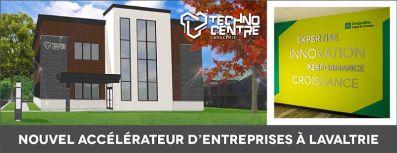 Nouvel accélérateur d'entreprise à Lavaltrie
