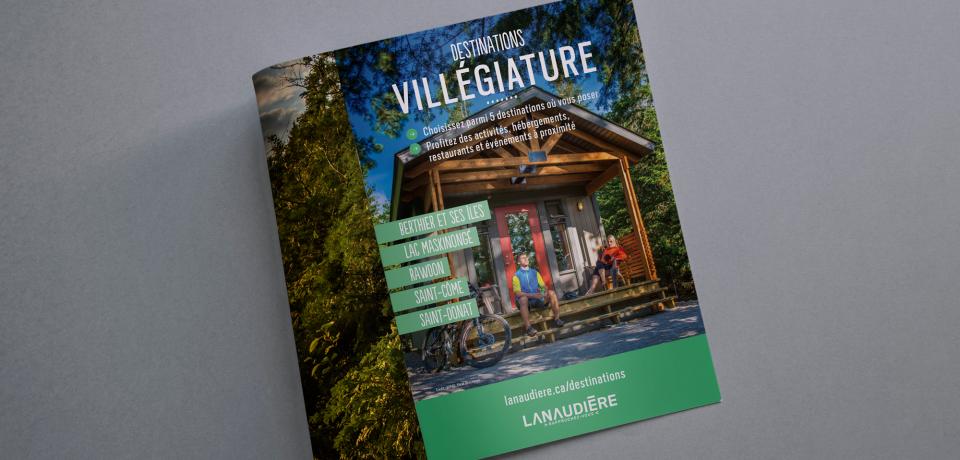 Publicité - Tourisme Lanaudière